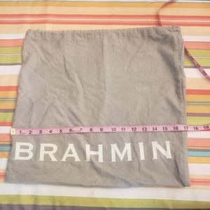 Brahmin dust bag